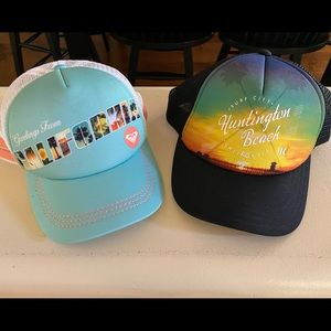 Roxy & Hurley Womens/Girls Hats, California Beach